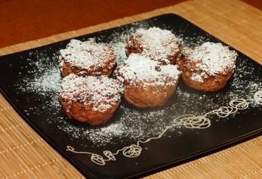 Pšenovo gaštanové koláčiky