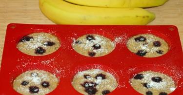 banánové mafiny