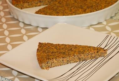 mrkvovo makový koláč