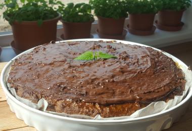 Bezlepkový makový koláč