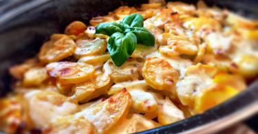 Francúzske zemiaky s kapustou